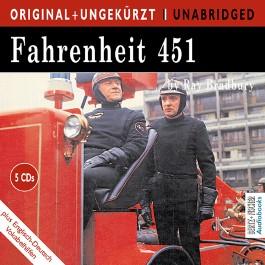 Fahrenheit 451, engl. Version, MP3-CD