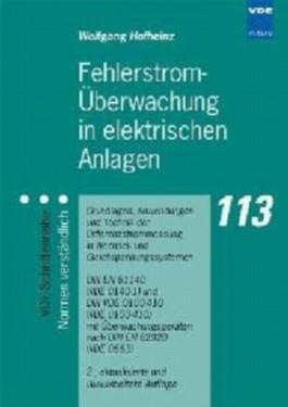 Fehlerstrom-Überwachung in elektrischen Anlagen