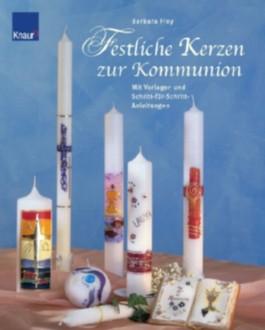 Festliche Kerzen zur Kommunion
