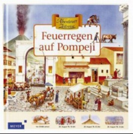 Feuerregen auf Pompeji