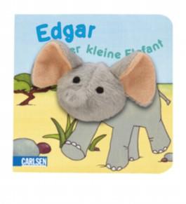 Fingerpuppen-Bücher: Edgar, der kleine Elefant