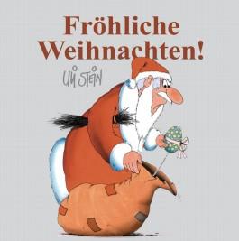 Fröhliche Weihnachten - Weihnachtsmann