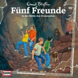 Fünf Freunde in der Höhle des Urmenschen, 1 Audio-CD