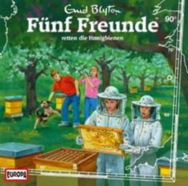 Fünf Freunde retten die Honigbiene, 1 Audio-CD