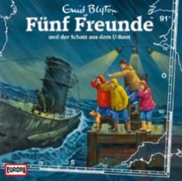 Fünf Freunde und der Schatz aus dem U-Boot, 1 Audio-CD