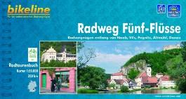 Funf Flusse Radatlas Entlang Pegnitz, Donau, Altmuhl, Vils, Naab