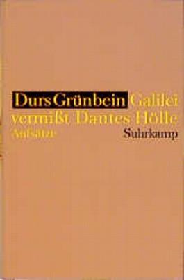 Galilei vermißt Dantes Hölle und bleibt an den Maßen hängen