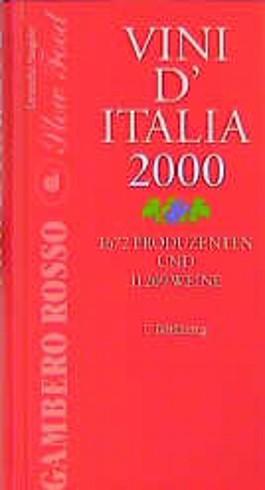 Gambero Rosso, Vini d' Italia 2000, deutsche Ausgabe