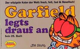 Garfield legt's drauf an