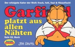 Garfield platzt aus allen Nähten