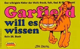 Garfield will es wissen