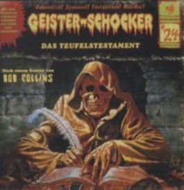 Geister-Schocker - Das Teufelstestament, Audio-CD