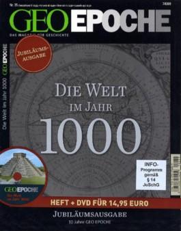 Geo Epoche (mit DVD) / Die Welt im Jahr 1000