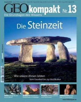 Geo kompakt / Die Steinzeit