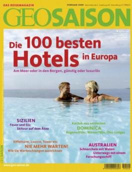Geo Saison / Die 100 besten Hotels in Europa
