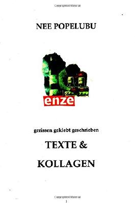 gerissen geklebt geschrieben: Texte & Kollagen