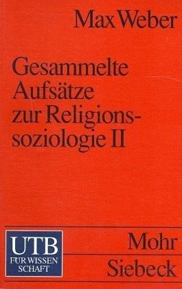 Gesammelte Aufsätze zur Religionssoziologie 2