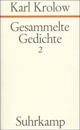 Gesammelte Gedichte. 4 Bände