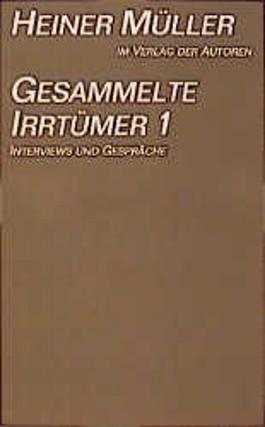 Gesammelte Irrtümer 1-3