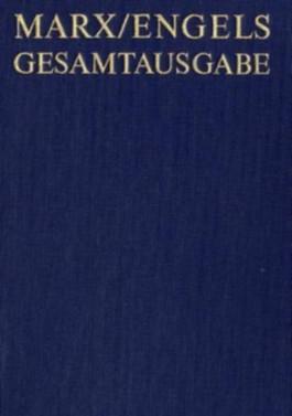 Gesamtausgabe (MEGA) / Karl Marx: Zur Kritik der politischen Ökonomie (Manuskript 1861-1863)
