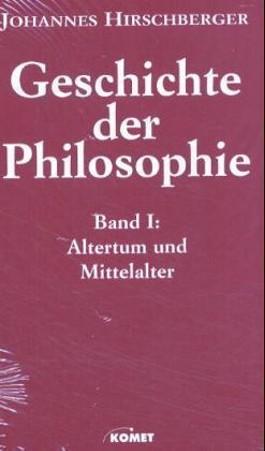Geschichte der Philosophie, 2 Bde.