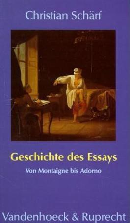 Geschichte des Essays