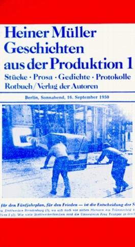 Geschichten aus der Produktion 1