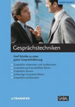 Gesprächstechnik (Arbeitsheft)