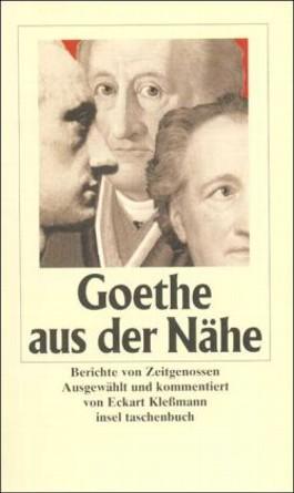 Goethe aus der Nähe