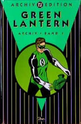 Green Lantern, Archiv-Edition. Bd.1