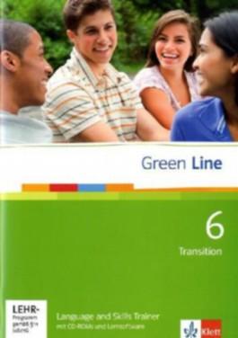 Green Line / Language and Skills Trainer mit CD-ROM und Lernsoftware Band 6 (10. Klasse)