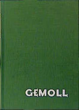 Griechisch- Deutsches Schul- und Handwörterbuch