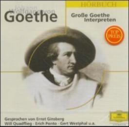Grosse Goethe Interpreten