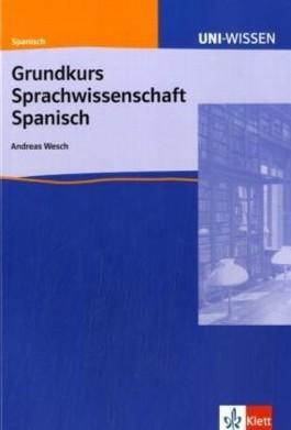 Grundkurs Sprachwissenschaft Spanisch