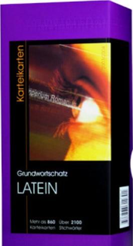 Grundwortschatz Latein