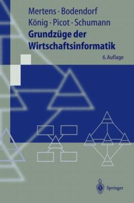 Grundzüge der Wirtschaftsinformatik