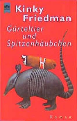 Gürteltier und Spitzenhäubchen.