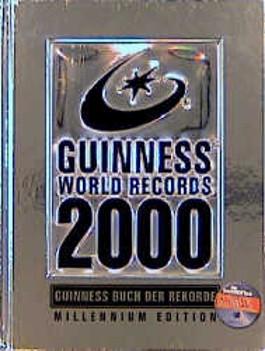 guinness buch der rekorde 2000 millenium edition von. Black Bedroom Furniture Sets. Home Design Ideas