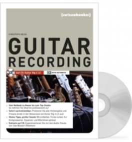 Guitar Recording, m. CD-ROM