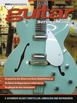 guitar service manual
