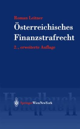 Handbuch des österreichisches Finanzstrafrechts