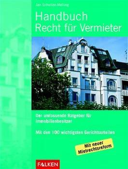 Handbuch Recht für Vermieter