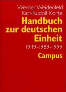 Handbuch zur deutschen Einheit
