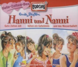 Hanni und Nanni - Gute Zeiten-Box, 3 Audio-CDs