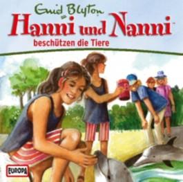 Hanni und Nanni beschützen die Tiere, 1 Audio-CD