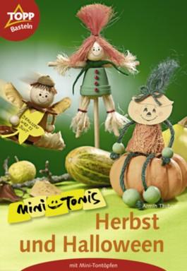 Herbst und Halloween mit Mini-Tontöpfen