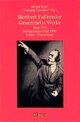 Heribert Fassbender - Gesammelte Werke. Band IX/5
