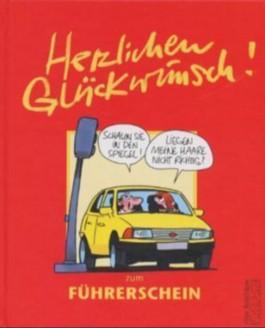 Herzlichen Glückwunsch Zum Führerschein Von Peter Butschkow