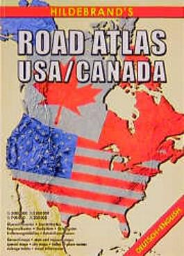Hildebrand's Road-Atlas USA, Canada