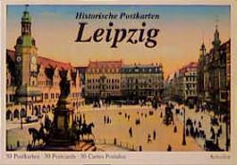 Historische Postkarten Leipzig. 30 Postkarten /30 Postcards /30 Cartes Postales